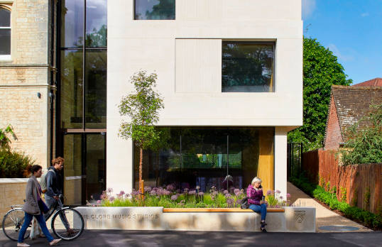 The Clore Music Studios, New College, Oxford University © Allan Crowe