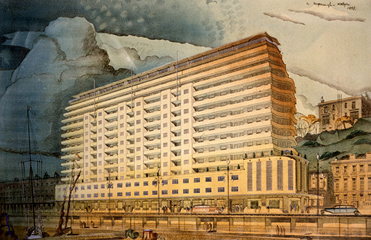 Marine Court, St Leonards on Sea, East Sussex, RIBA Collections