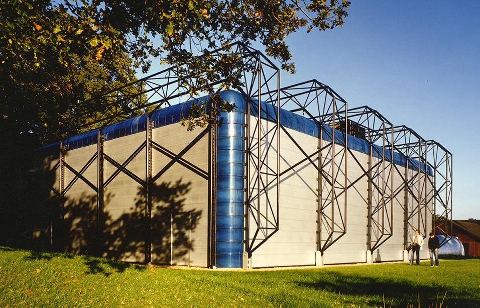 Sports Hall for IBM, Hursley Park, Hampshire