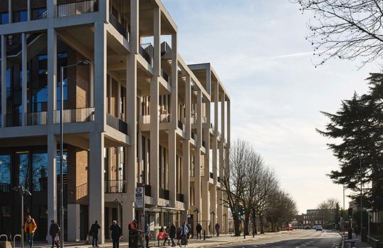 Kingston University London - Town House