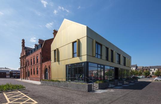 The Bis, Whitby Street Studios exterior