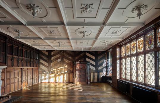 Wythenshawe Hall interior