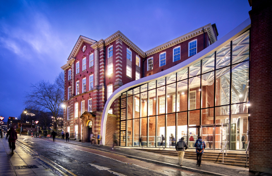 The University of Sheffield, Engineering Heartspace exterior