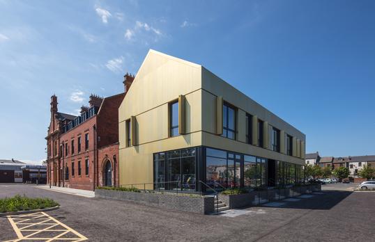 The BIS, Whitby Street Studios byGroup Ginger