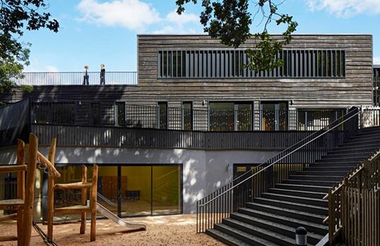 Davenies School by Dennis Gilbert