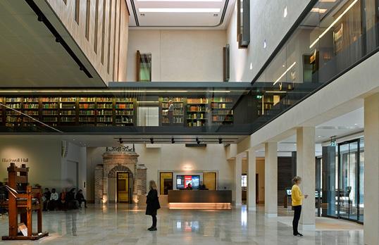 Weston Library by James Brittain
