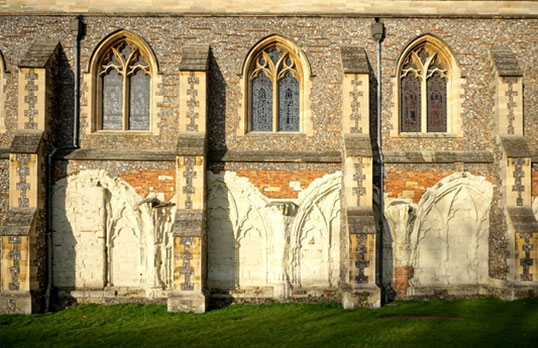 St-Albans-Abbey by Richard Griffiths