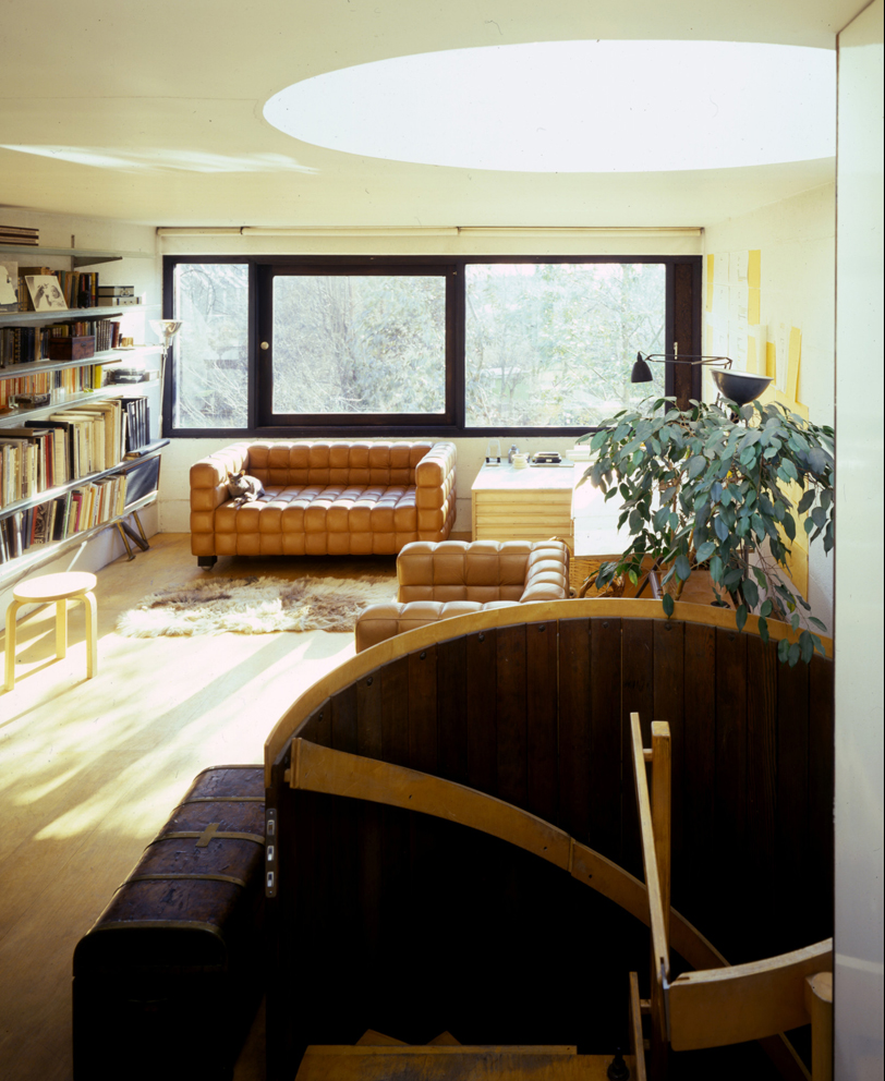 Neave Brown's own home at Winscombe Street photo credit Martin Charles/RIBA Collections