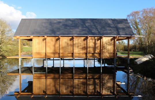fishing hut niall mclaughlin architects