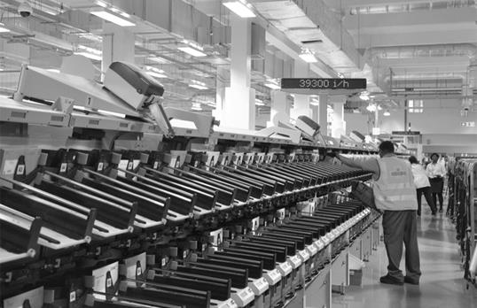 Post Office sorting machinery