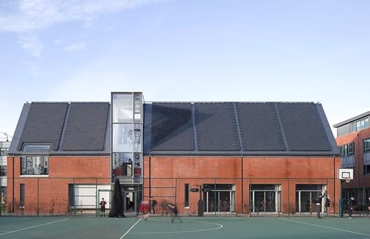 King's College School by Nick Guttridge
