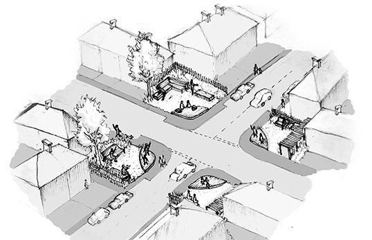 RESOLVE Collective drawing of corner plot