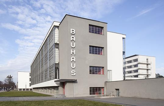 Bauhaus building, Dessau. ORCH Orsenigo / RIBA Collections