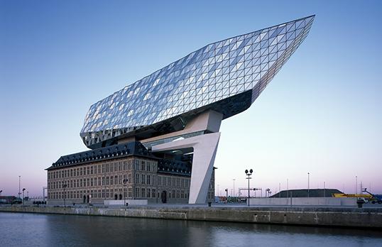 Antwerp Port House, Belgium, by Zaha Hadid Architects