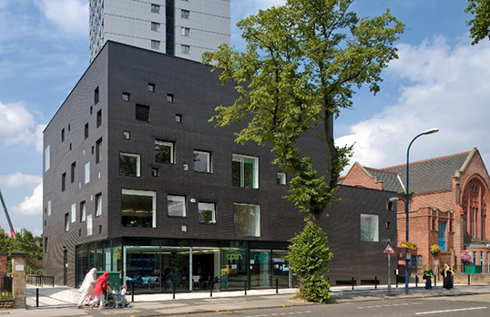 New Art Exchange in Nottingham, designed by Hawkins\Brown