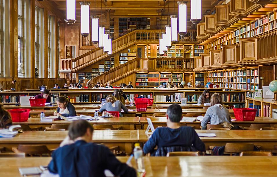 Library of the university of Leuven, Belgium