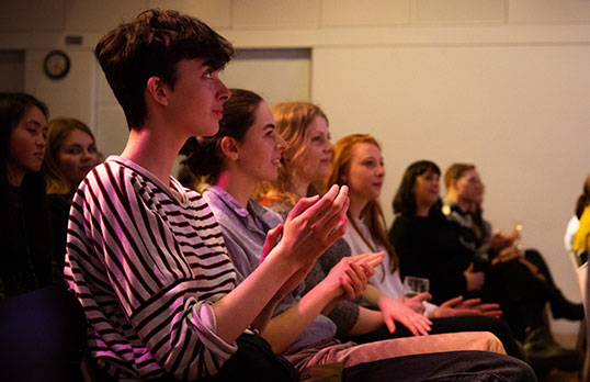 People attending the East Midlands' 2019 Women in Architecture event