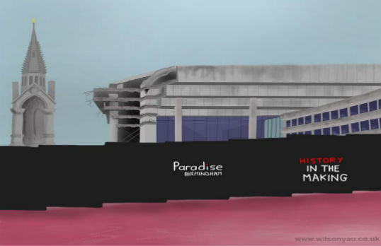 Paradise Birmingham - History in the Making