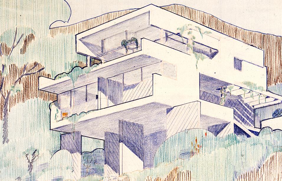 Design for a beach house