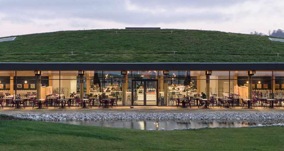 Gloucester services - photograph by Paul Miller