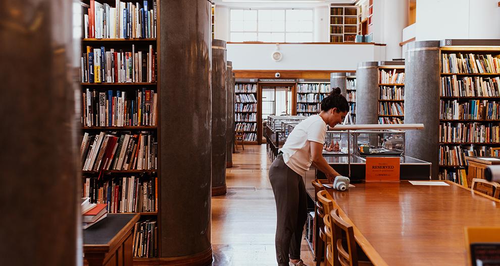 Photo of reading room