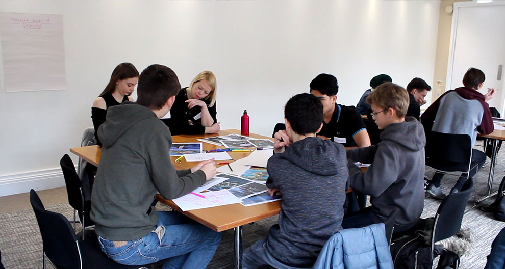 Creative workshops for young people