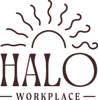 Logo for Halo Workplace, from the Halo Collective